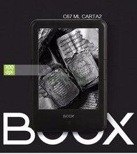 "ONYX BOOX c67ml carta2 nuevo ebook 8G pantalla táctil de 6 ""ereader 300 dpi 3000 mAh Android WIFI electrónica libro envío libre + cubierta"