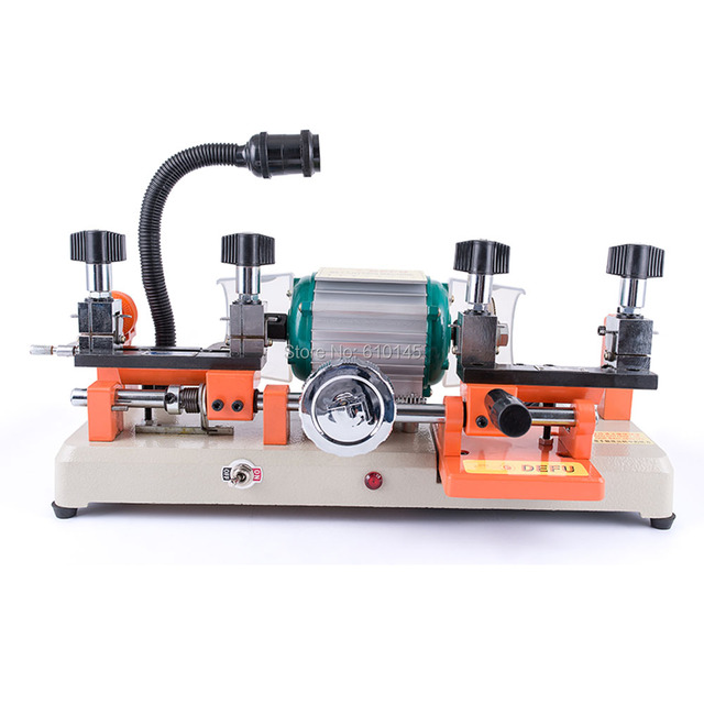Double head 110v/60hz  defu 238BS horizontal key cutting  machine for USA.Mexico key duplicating machine   locksmith tools