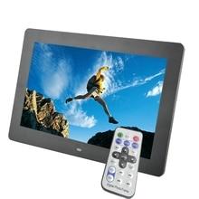 10 дюймов TFT Экран LED Подсветка HD 1024*600 Фоторамки электронный альбом фото музыка MP3 MP4 Porta Retrato цифровой