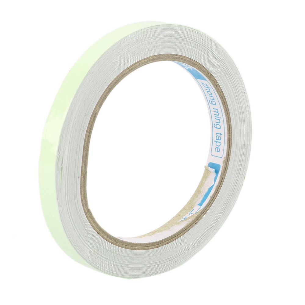 10M 10/12/15/20/25mm Leucht Band Self-adhesive Warnband Nacht vision Glow In Dark Sicherheit Sicherheit Home Dekoration Bänder