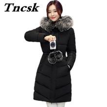 Winter 2017 Thickening Women Parka Women's Wadded Jacket Female Outerwear Fashion Cotton-padded Jacket