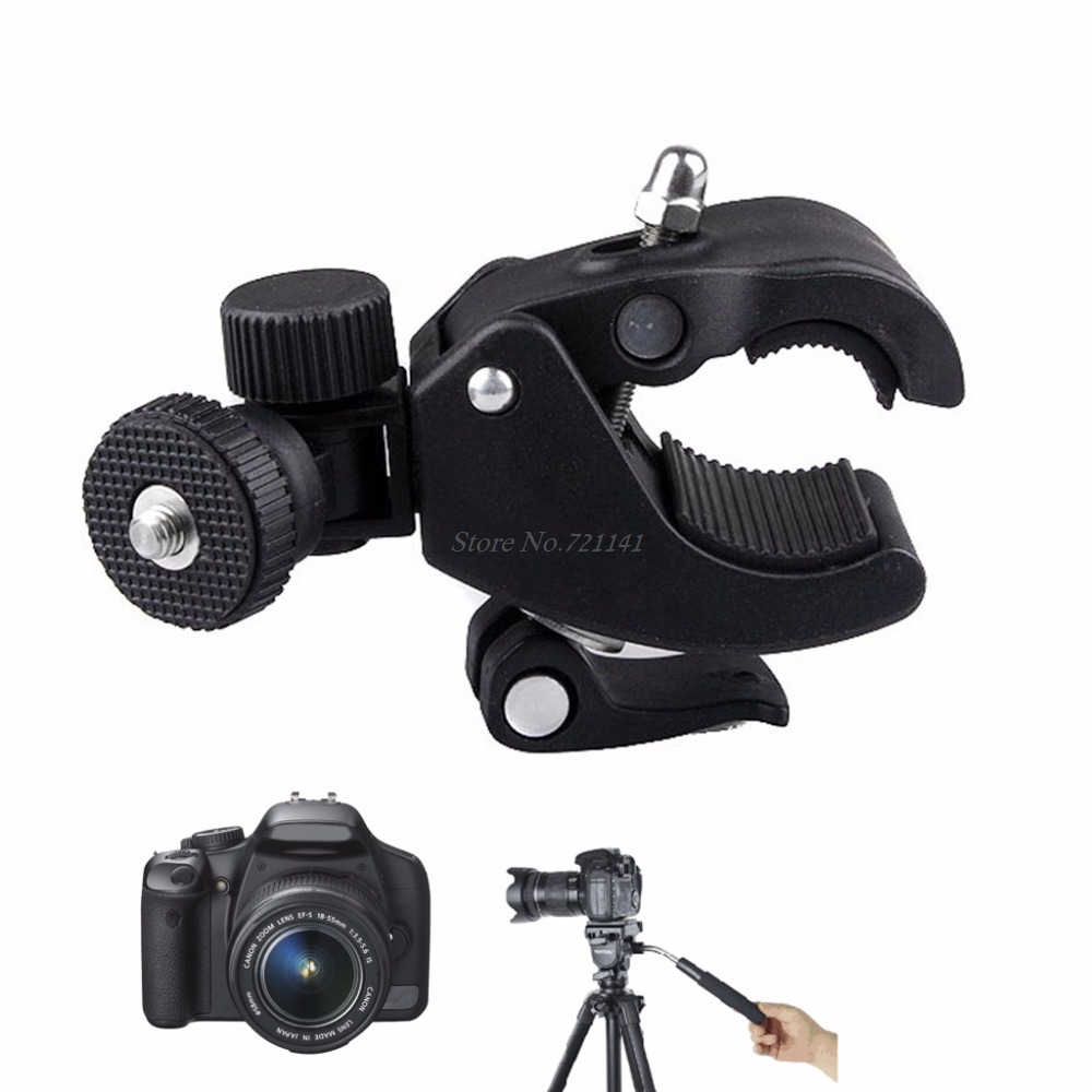 Camera Super Clamp Tripod Clamp For Holding LCD Monitor/DSLR Cameras/DV Tool New 2018 Electronics Stocks