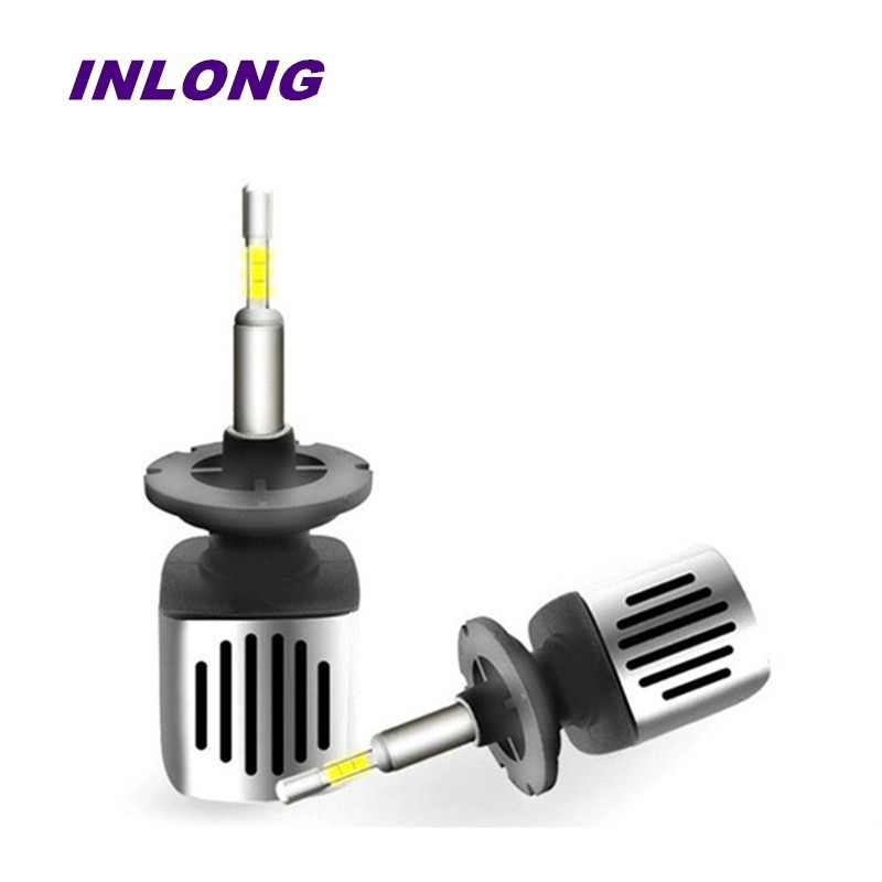 Inlong Car H7 H4 LED Headlight Bulbs 9005 9006 H11 H8 D2S D1S D3S H1 Led Lamp SAMSUNG CSP 60W 11200LM Headlamp  Fog Lights 6500K