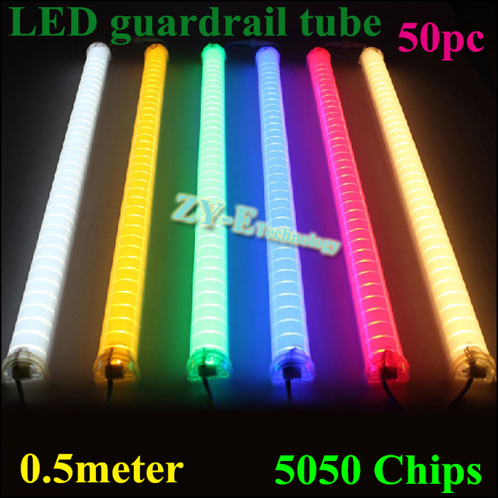 New 50pc 1 meter meter supper bright led guardrail tube led outdoor new 50pc 1 meter meter supper bright led guardrail tube led outdoor tube light led tube light 3648pcm smd5050 dc24v in outdoor landscape lighting from aloadofball Image collections