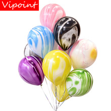 VIPOINT PARTY 100pcs 12inch black pink blue green latex ballon wedding event christmas halloween festival birthday party PD-131