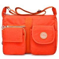 Нейлоновые женские сумки-мессенджеры, повседневные клатчи Carteira, винтажные женские сумки, женские сумки через плечо, сумки на плечо