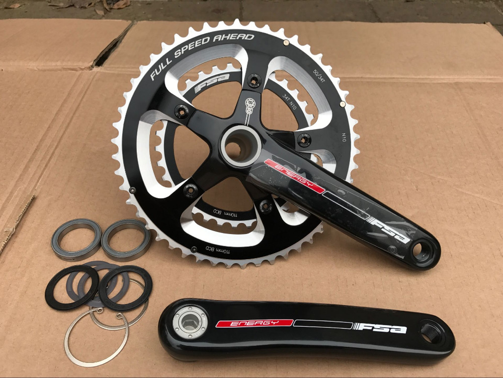 original CK-0SC8090 FAS 34/50T 110BCD 170 175 BB30 CNC Road bike crankset chainwheel