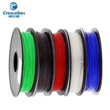High quality 3D printer filament pla 1.75mm 500g plastic Rubber Consumables Material colorful Plastic Filament Materials