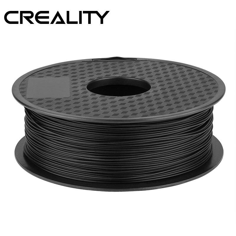 Filamento para impressora 3d pla, 5 cores opcionais ender 1.75mm 1kg/rolo 2.2lb carretel com certificação ce creality 3d impressora,