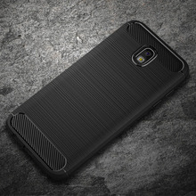 Samsung Galaxy J7 2017 Kılıf J3 J5 2017 Karbon Fiber Yumuşak Silikon J7 Pro Samsung kılıfı Galaxy J5 2017 J3 2017 Kılıfları Kapa...