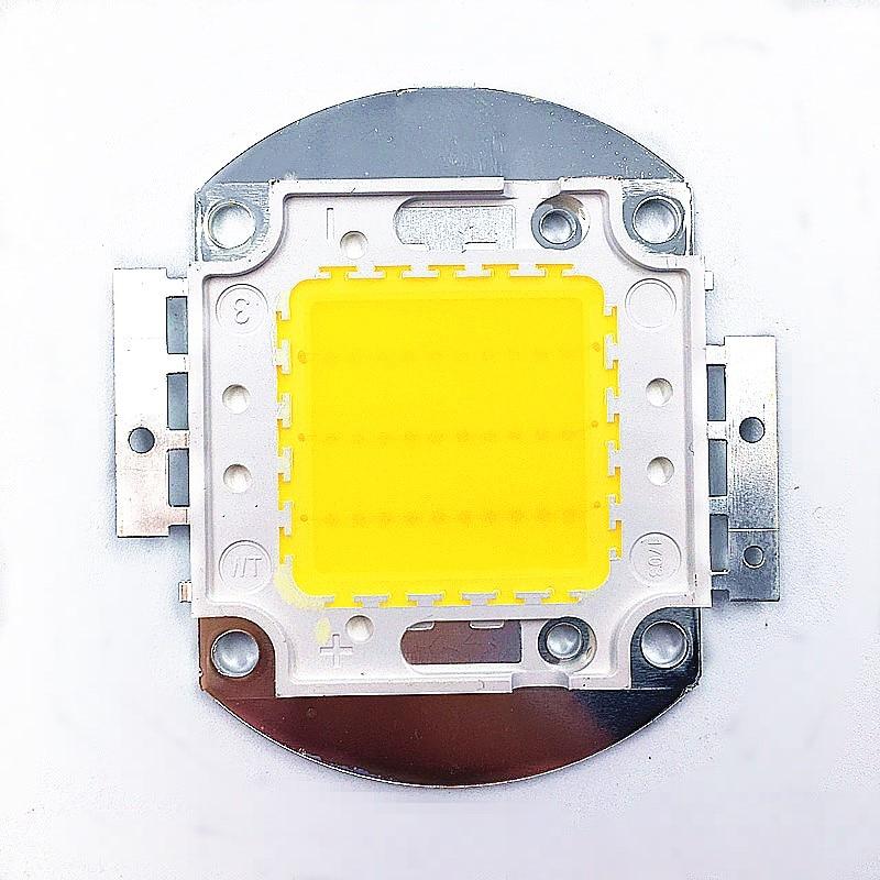 1pcs 30W Warm White3000k(cold 6000k) 4000K High Power LED Flood light Lamp Bead COB 33mil Chip module 30-34V 900mA 40mm 3000LM