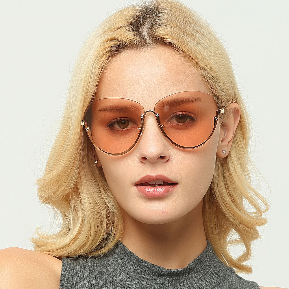 a840adc988 20+ Light Color Semi Rimless Eyeglasses Pictures and Ideas on Meta ...