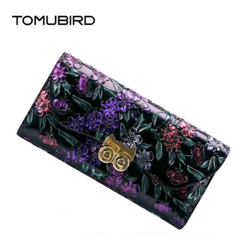 free delivery  Genuine Leather  women bag  Original embossing process Ethnic wind purse Bit multi-card zipper wallet  Chain pack free delivery intake pressure sensor 0261230011 genuine