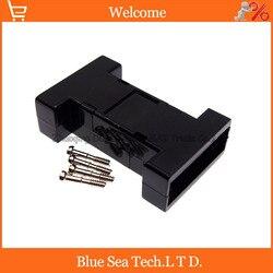 DB9 pressure type shell RS232 transfer to RS485 transverter DB9 COM communication interface plastic sheath/shell