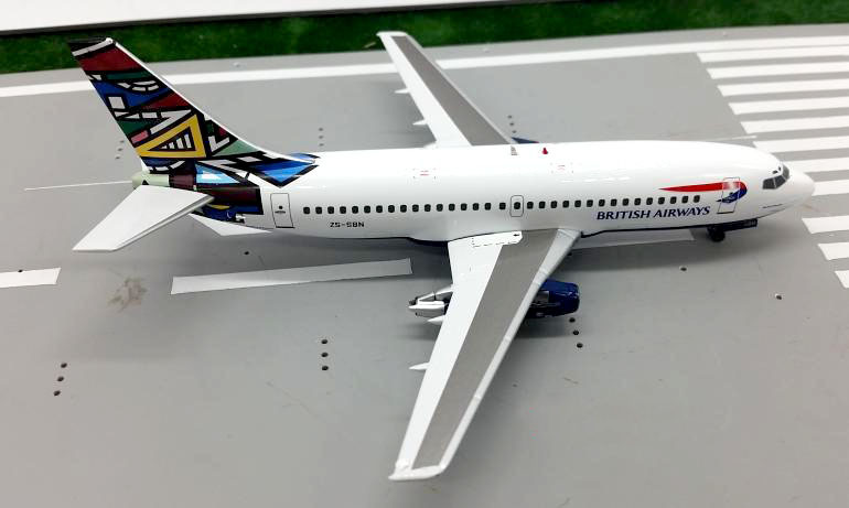 ФОТО IF200 Global Limited 1:200 British Airways Boeing 737-200 aircraft model Alloy ZB-SBN aircraft model Rare collection model