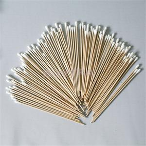 100pcs 15cm Length Beauty Makeup Cotton Swab Cotton Buds Make Up Wooden Sticks Nose Ears Cleaning Cosmetics Health Care