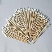 Cotton-Swab Wooden-Sticks Makeup Health-Care Cosmetics Nose Cleaning Beauty 100pcs 15cm-Length