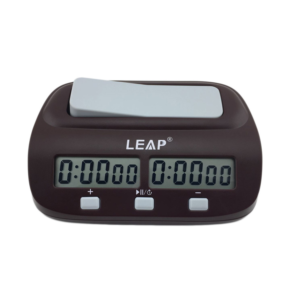Conscientious Leap Professional Compact Digital Chess Clock Count Up Down Timer Electronic Board Game Bonus Competition Master Tournament New In Many Styles