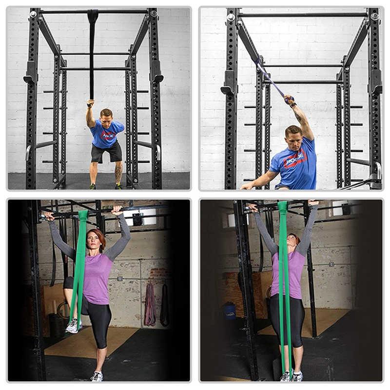 Zacro Fitness opaski gumowe odporność na zespół Unisex 208Cm joga Opaski elastyczne pętli Expander do ćwiczeń sprzęt sportowy