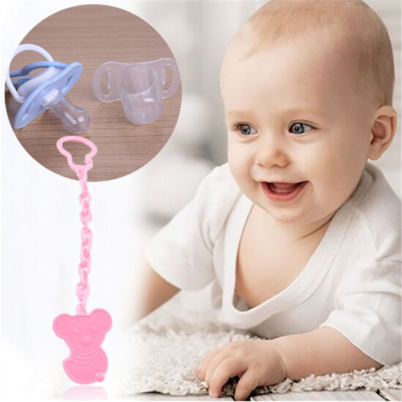Baby Pacifier Chain Pacifier Chain Anti-chain Water Towel Clip Baby Toy Teeth Rubber Anti-rope Lanyard