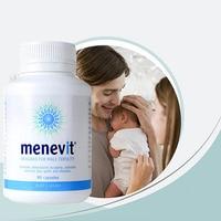 mentvit Designed for male fertility contains antioxidants lycopene,selenium and zinc plus garlic and vitamins 90 pcs