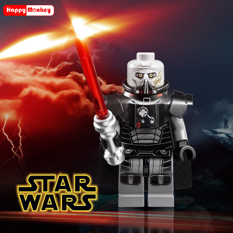 Single Sale jedi Star Building Blocks Wars Luke Leia Han Solo Anakin Darth Vader Yoda Jar Jar Model Toys starwars figures Bricks