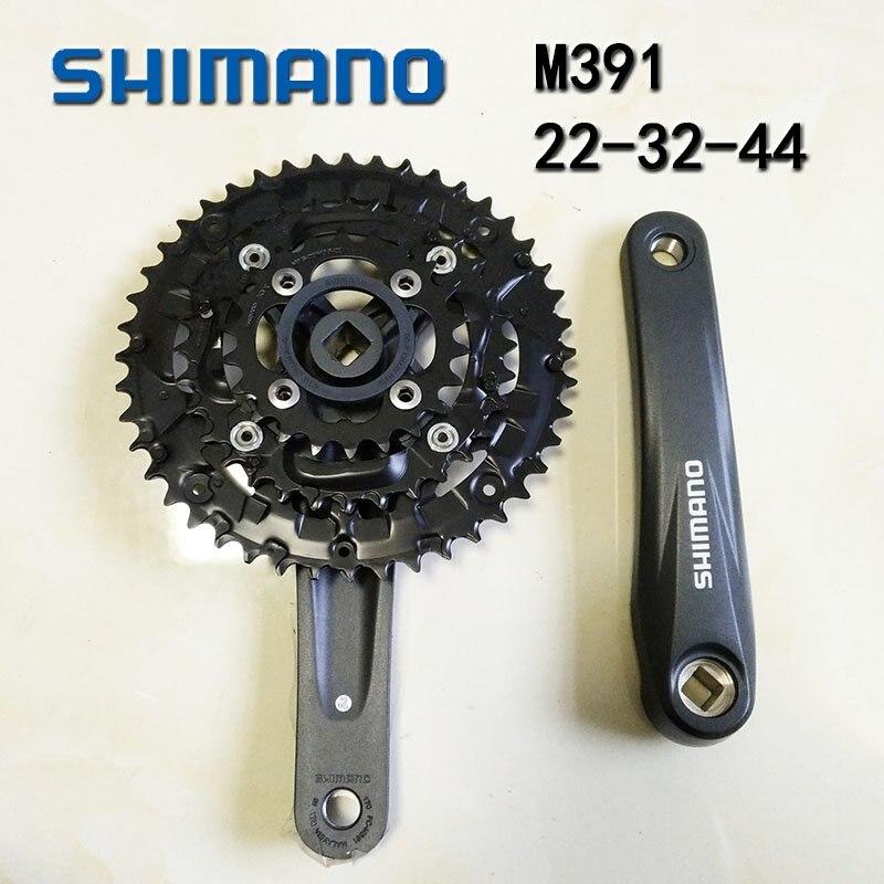 Shimano Acera FC-M391 9 Vitesse Montagne Vélo VTT Pédalier 44-32-22T 170mm Noir vélo manivelle ensemble