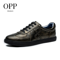 OPP Genuine Leather Men Shoes Casual Shoes For Men Cow Leather moccasins hombre  Fashion Men Loafers for Men Flats 1