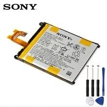 Оригинальные Замена sony Батарея LIS1543ERPC для sony Xperia Z2 так-03 D6502 D6503 L50w Сириус Подлинная телефон Батарея 3200 мАч