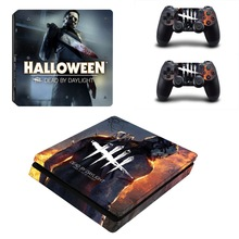 Dead by Daylight PS4 Slim Skin Sticker Decal for PlayStation 4 Console and Controller PS4 Slim Sticker Skins Vinyl