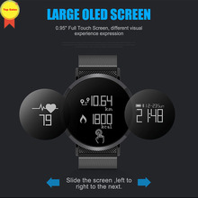 IP67 waterproof smart watch bluetooth band heart rate blood pressure monitor 0.95 OLED long time standby sport men fashion watch lemfo new smart watch waterproof professional sport modes smart band heart rate blood pressure oxygen long term standby for men