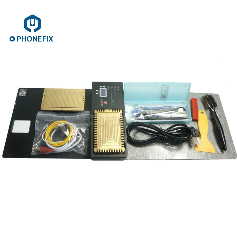 PHONEFIX 220V MFC IREWORK Station SMD Solder Station For iPhone PCB Motherboard Circuit Board Rework Heating