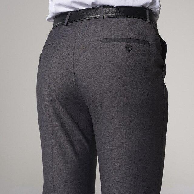 XMY3DWX New fashion male high-grade slim fit business Suit pants/Male leisure pure color Casual pants/men Thin leg pants 28-42 3