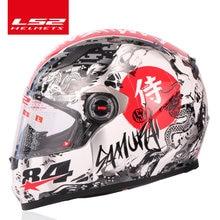 Originale LS2 FF358 del fronte pieno moto rcycle casco ls2 moto cross da corsa uomo donna casco moto casque LS2 ECE approvato senza pompa