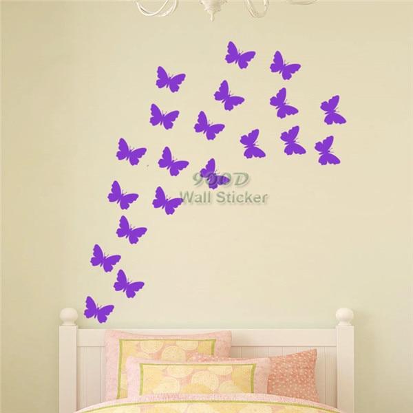 Erfly Wall Sticker Diy Home Decoration Art