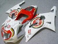 For Suzuki GSXR 1000 2000 2001 2002 Injection ABS Fairing Kits GSX 1000R 00 01 02 Lucky Strike Red White