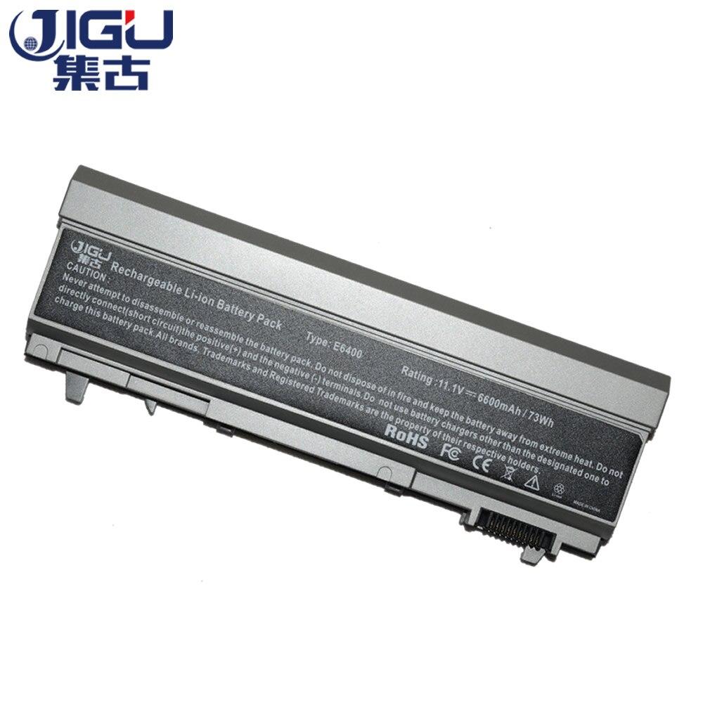 цена на JIGU Laptop Battery 312-0215 312-0749 312-0748 1M215 For Dell For Latitude E6400 M2400 E6510 E6500 M4400 M6400 M6500 M4500 E6410
