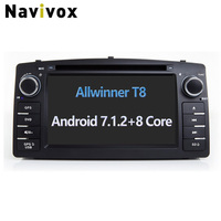Navivox 8 Core 2din Android 7 1 2 Car GPS Video Player For FYD F3 RAM