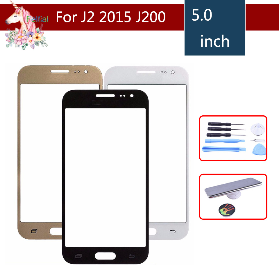 TouchScreen For Samsung Galaxy J2 2015 J200 J200F J200H J200M J200Y Touch Screen Front Panel Glass Lens Outer LCD Glass