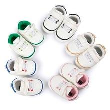 Penkios spalvos Mada PU Oda Kūdikių Mocasinas Naujagimis Vaikiški batai Vaikiški Sneakers Kūdikių Indoor Crib Shoes CX06