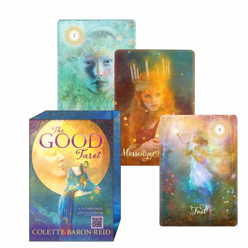2017 new good tarot cards decks full English version for personal use board game