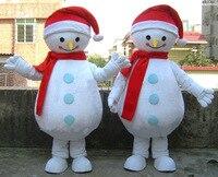 Christmas Snowman Mascot Costumes Cartoon Halloween Cartoon Costumes
