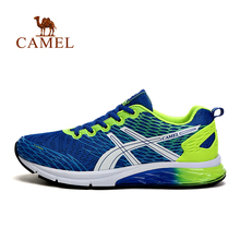 Camel Men's Running Shoes Men breathable Sport Footwear Pu Mesh Summer Breathable Comfortable Shining Low Running shoes