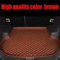 Индивидуальные автомобильные коврики для багажника Hyundai ix25 ix35 Tucson Santa Fe Elantra Sonata Solaris  чехол с полным покрытием  коврики для ковров