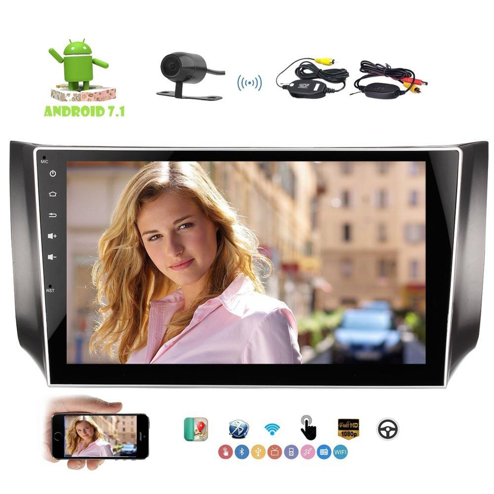 Eincar Android 7 1 Double Din 10 1 Car Stereo For SYLPHY In Dash Car Autoradio