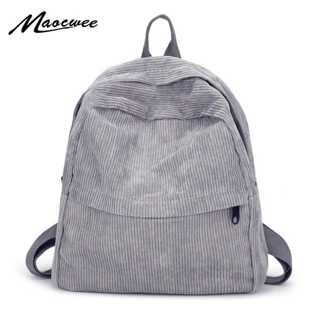 Women Backpack Youth Small Solid Casual Backpacks Students School Bag  Teenage Girls Vintage Laptop Bags Rucksack Mochila 2527b01ee60f7
