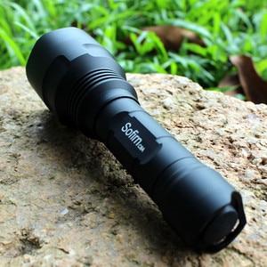 Image 4 - Sofirn C8A キット戦術的な LED 懐中電灯 18650 Cree XPL2 強力な 1750lm フラッシュライトハイパワートーチライトバッテリー充電器
