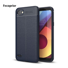 Fecoprior LGQ6 Q 6 TPU Case For LG Q6 Back Cover Thin Soft Armor Shield Smart