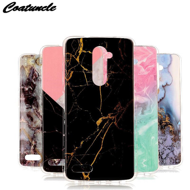 innovative design a7006 777b5 US $1.69 15% OFF|luxury Marble Stone Case sFor ZTE Zmax Pro Z981 Case soft  Silicone TPU Rubber Back Cover Phone Case For ZTE Zmax Pro Z981 Case-in ...