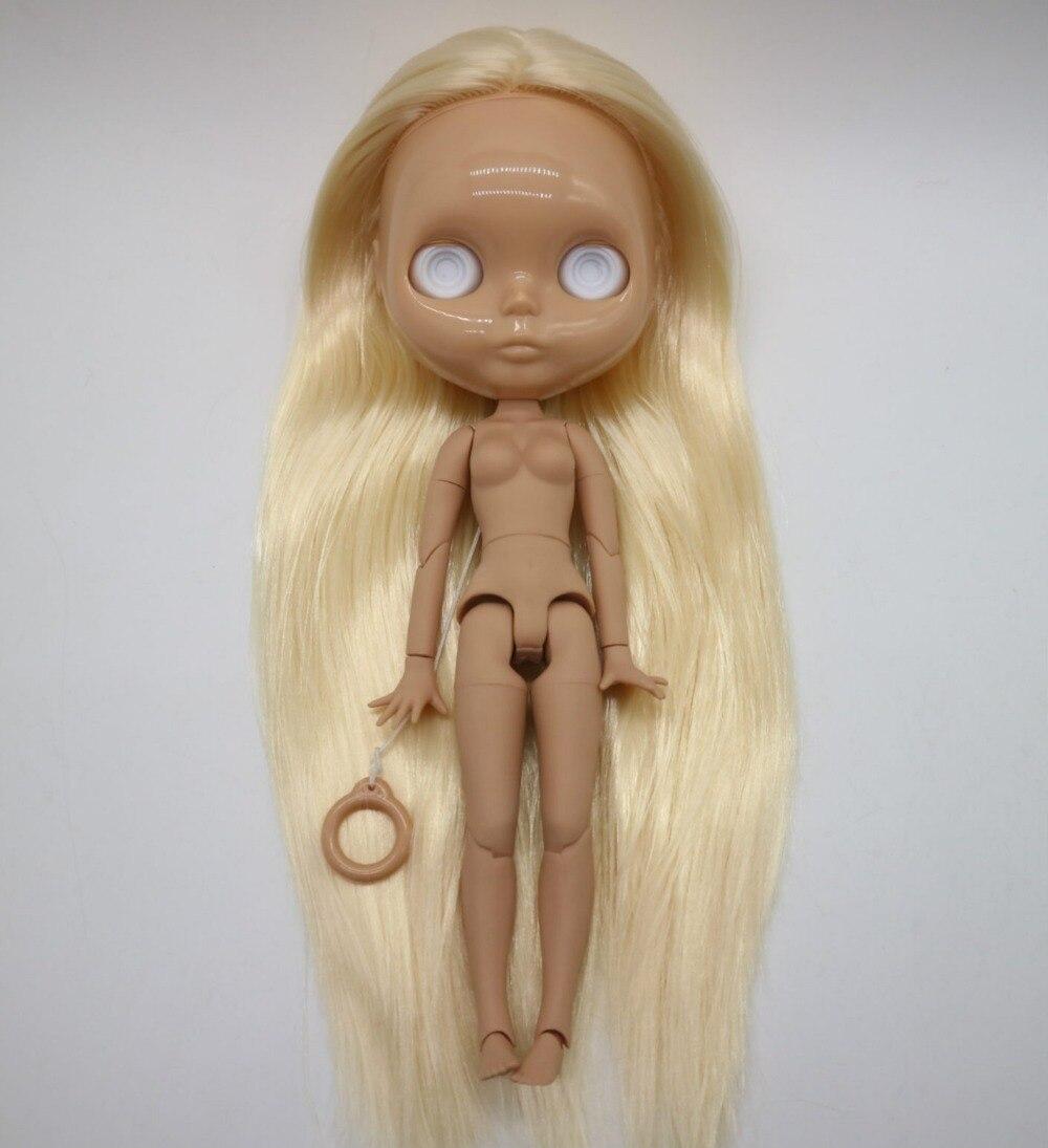 Ohne augen chips joint körper Nude blyth puppe für DIY blond haar Mode puppe 20181227-in Puppen aus Spielzeug und Hobbys bei  Gruppe 2